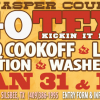 Honky Tonk Texas Hosts Jasper County Area Go Texan Cookoff Jan 31 – Feb 1