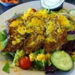 Serious Southeast Texas Salads at Novrozsky's