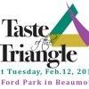 Don't Miss Beaumont's Fat Tuesday Party TONIGHT – Taste of the Triangle 2014 at the Beaumont Civic Center