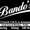 SETX Wedding Catering by Bando's Beaumont