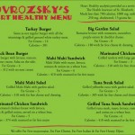 Eat Heart Healthy Beaumont. Eat at Novrozsky's.
