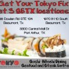 Looking for a Great Southeast Texas Happy Hour? Tokyo Japanese Steakhouse & Sushi Bar has New Drink Specials
