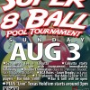 Honky Tonk Texas Southeast Texas Pool Tournament August 3rd