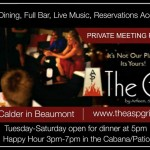 Beaumont Office Thanksgiving – The Grill is a wonderful SETX Private Party Venue