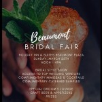 This Weekend in Southeast Texas – The Beaumont Bridal Fair, Sunday at The Holiday Inn & Suites