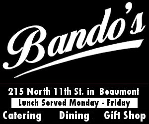 Bando's Beaumont Wedding Caterer