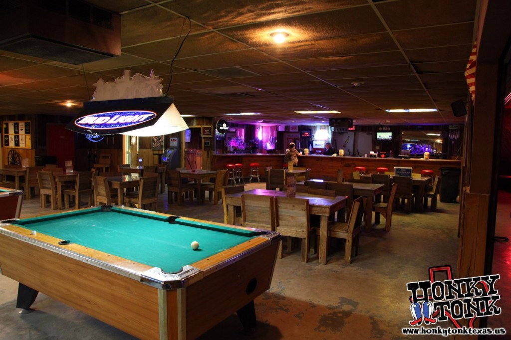 Honky Tonk Pool Table