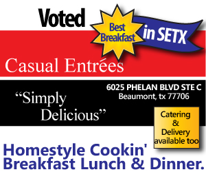 Casual Entrees Voted Best Beaumont Breakfast