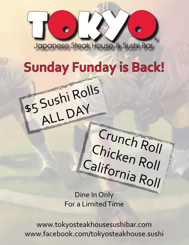 Tokyo Sunday Funday 2014 SETX Football Specials