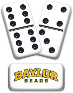 Southeast Texas college football fans stock up on collegiate gear - including Baylor Bear Dominoes - at Bando's Beaumont