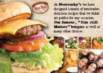Novrozsky's Silsbee's best burgers