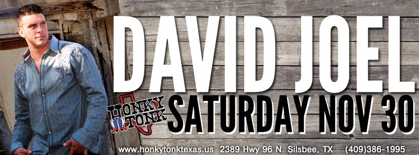Honky Tonk Texas David Joel 11-30-13jpg