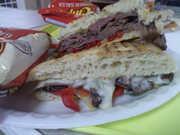 County Line Diner Kountze Restaurant Panini