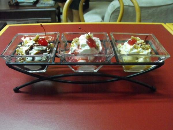County Line Diner Kountze TX home made ice cream
