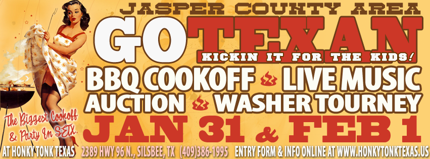 Honky Tonk Texas Go Texan Cookoff Jan 31