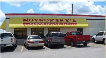 Novrozsky's popular Southeast Texas Burgers