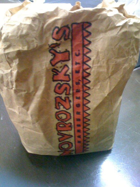 Novrozsky's to go burger southeast texas