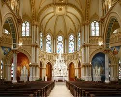 St. Joseph Church Galveston Interior NICE