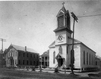 St. Joseph Church Galveston historical photo
