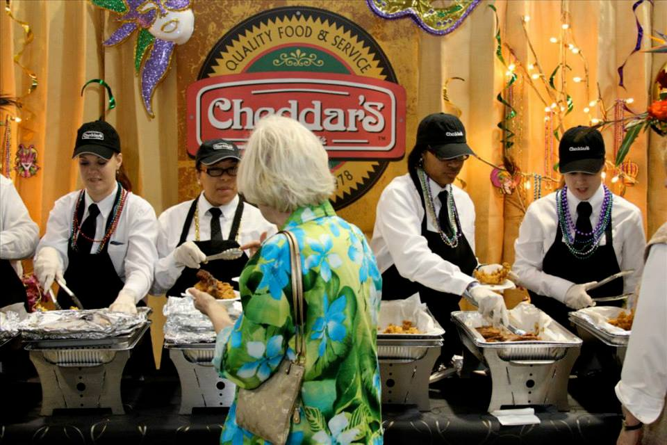 Sample Cheddar's at Taste of the Triangle 2014