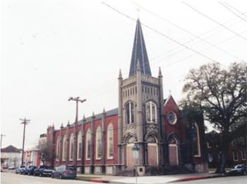 Galveston Church Tour First Evangelical Lutheran