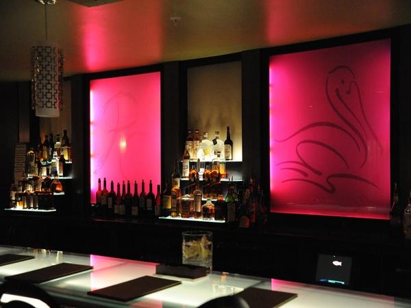 Pelican Club Galveston elegant bar