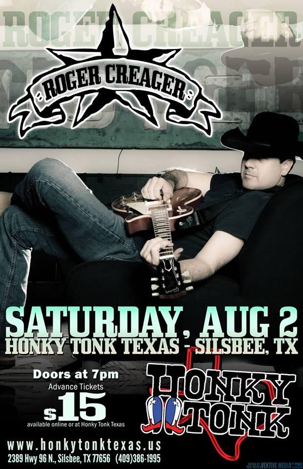 Honky Tonk Tx Roger Creager Live Aug 2 2014