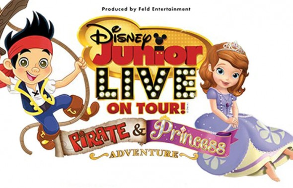Disney Junior Pirates and Princesses October 2014 Beaumont