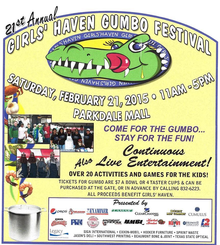 Girls Haven Gumbo Fest 2015