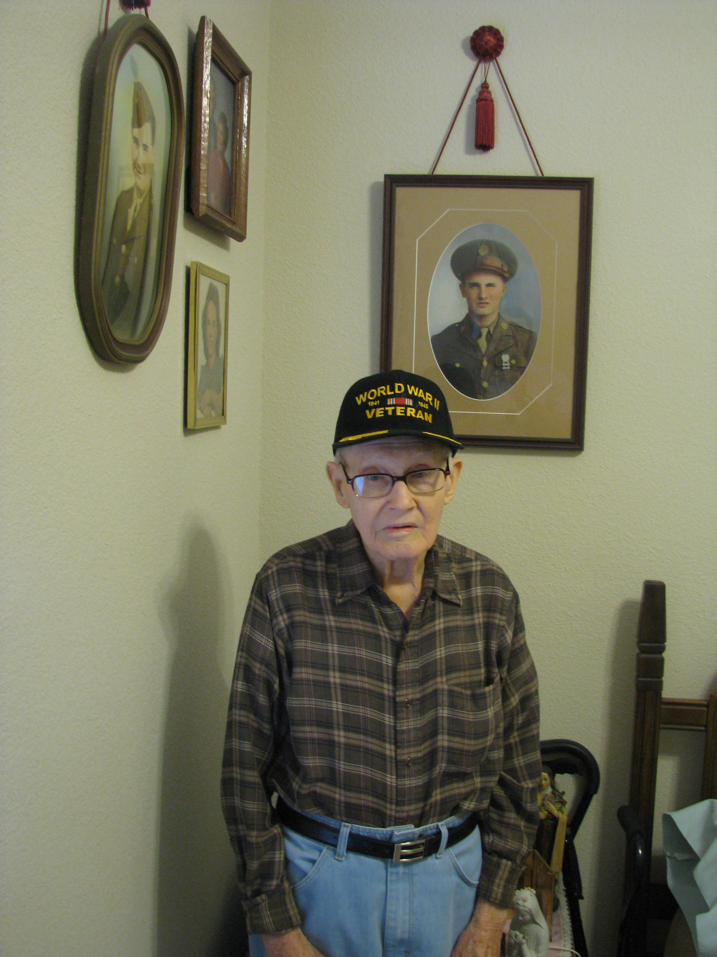 World War II Veteran Bio Texas