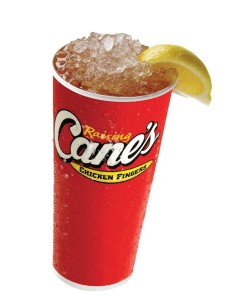 Raising Cane's Beaumont Tx - ice cold drinks Southeast Texas