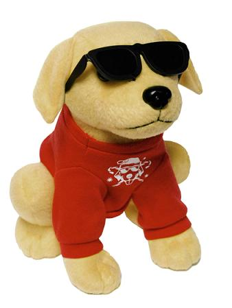 Raising Cane's Plush Dog