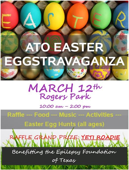 Alpha Tau Omega Easter Egg Hunt Beaumont TX 2016