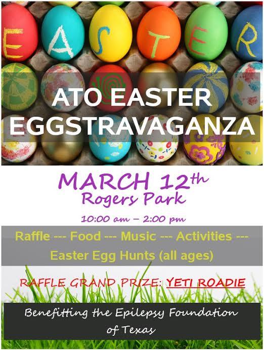Alpha Tau Omega Easter Egg Hunt Beaumont TX 2016