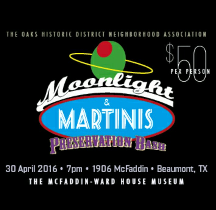 Oaks Historic District Beaumont Tx, Beaumont Preservation Bash 2016, live jazz Southeast Texas, martini Southeast Texas, Southeast Texas foodie, Beaumont foodie, SETX foodie, Golden Triangle events April 2016