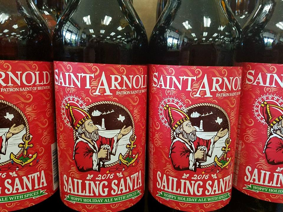St. Arnold's Sailing Santa, St. Arnold's Sailing Santa Beaumont TX, St. Arnold's Sailing Santa Southeast Texas, Beaumont Craft Beer, Miller's Discount Liquor, Miller's Discount Liquor Beaumont Craft Beer, Beaumont Craft Beer Review, Craft Beer Selection Beaumont TX