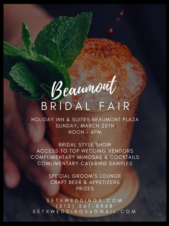 Beaumont Bridal Fair, SETX Weddings, Southeast Texas wedding planning, Bridal Traditions Beaumont