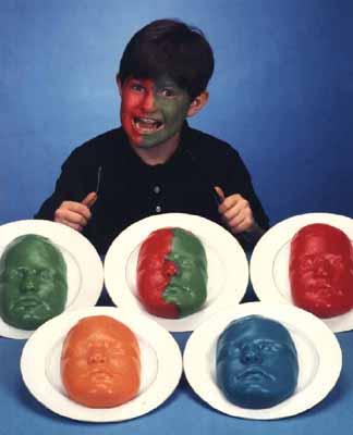 Samonek Gelatin Mold, Face Gelatin mold, your face jello mold